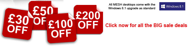 Save up to £200 with the MESH January Sale