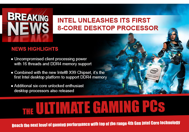 Unlocked and Overclocked - Experience Extreme with Intels first 8-Core Desktop Processor