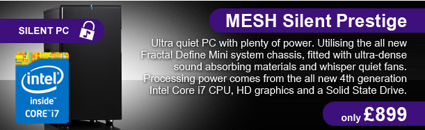 MESH Silent Prestige - only £899