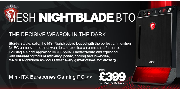 NightBlade Gaming PC - The Decisive Weapon In The Dark