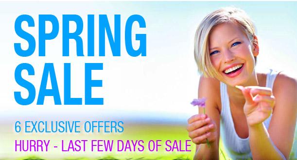 MESH Spring Sale - HURRY - Last Few Days!