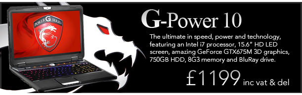 G-Power 10 - just £1199