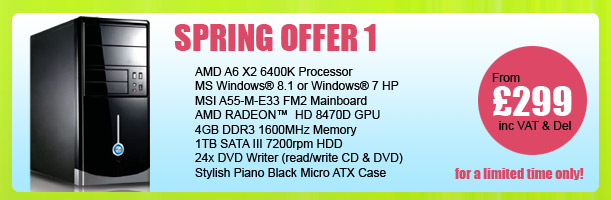 MESH Spring PC Offer 1 - for a limited period only