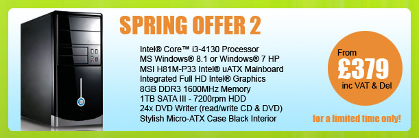 MESH Spring PC Offer 2 - for a limited period only