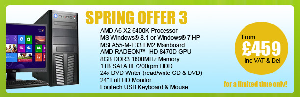 MESH Spring PC Offer 3 - for a limited period only
