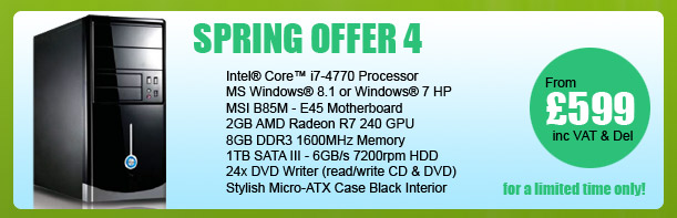 MESH Spring PC Offer 4 - for a limited period only