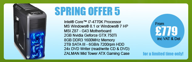 MESH Spring PC Offer 5 - for a limited period only