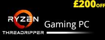 Ryzen Threadripper Gaming PC