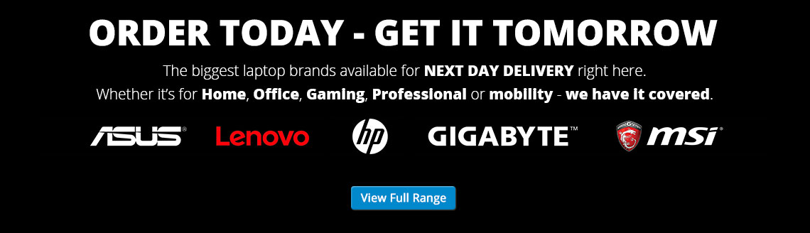 Next Day Laptops available from £379