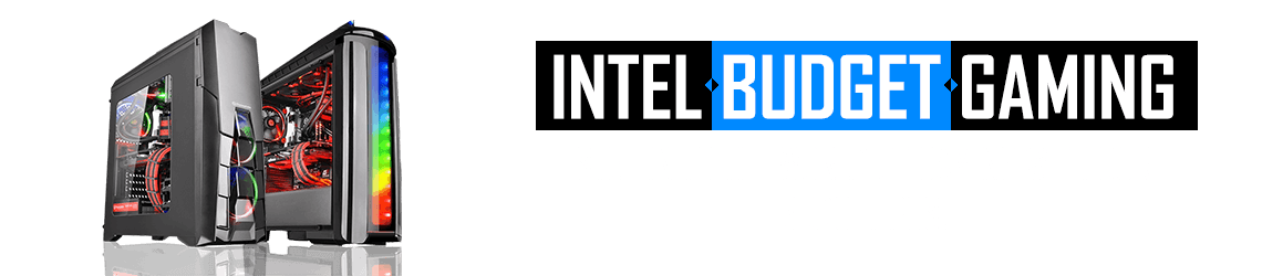 Step into the world of Gaming with our Intel range of Custom Budget PCs
